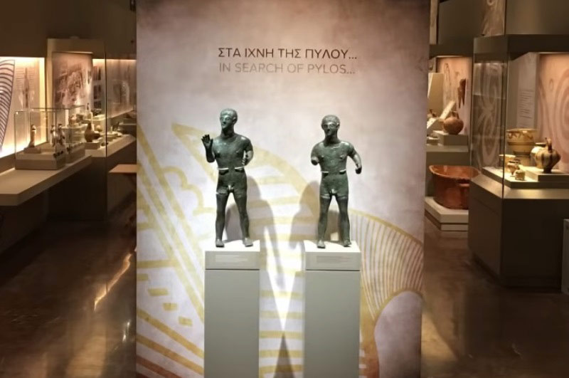 Archaelogical Museum of Pylos (20 min)
